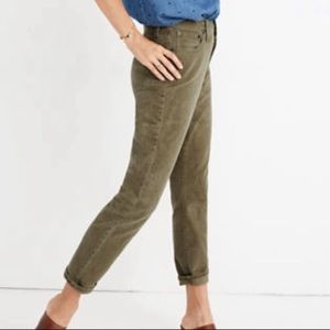 "Madewell ""The High Rise Slim Boy Jeans"" size 28"